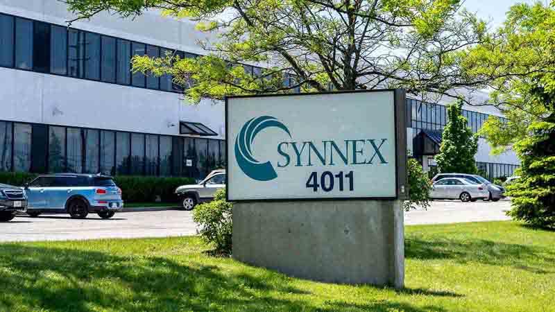 SYNNEX Canada building.