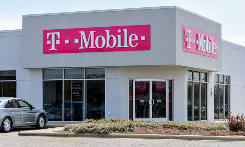 A T-Mobile store.