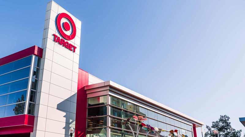 Modern Target supermarket location.