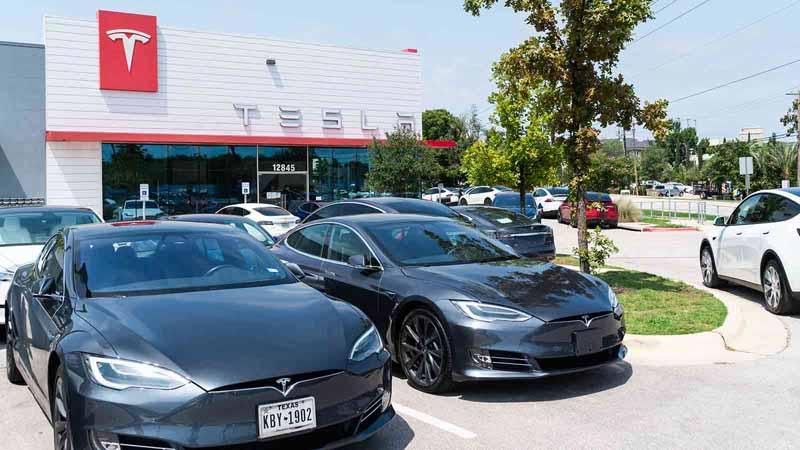Tesla Motors dealership.