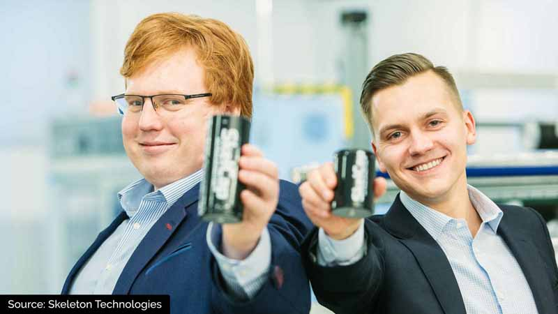 Co-founder and Chairman Oliver Ahlberg & co-founder and CEO Taavi Madiberk.