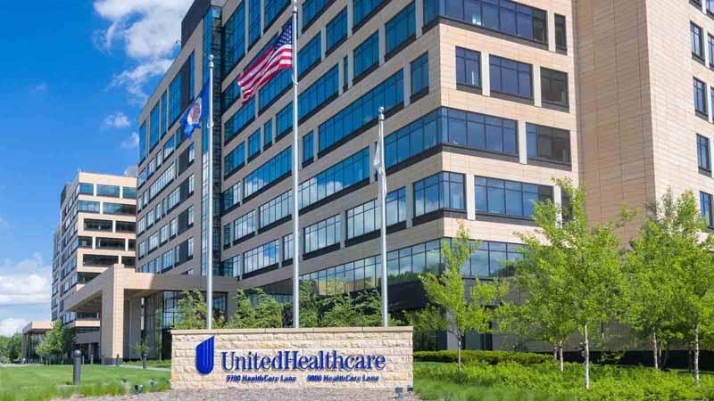 UnitedHealthcare headquarters in Minnesota.