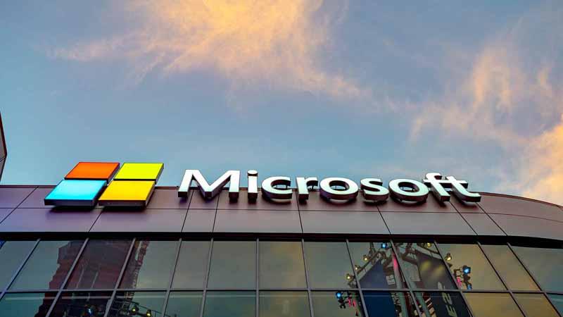 Microsoft Square in Los Angeles, California.