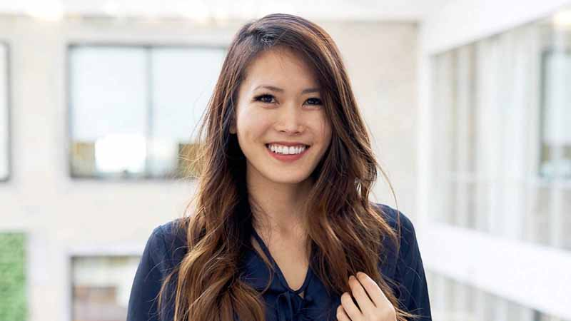 Teri Yu, Vibely's CEO and Co-founder.