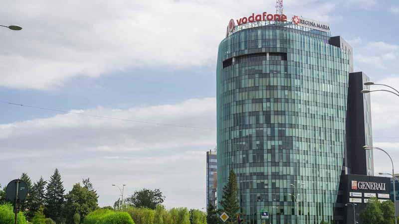 Headquarters of Vodafone Romania.