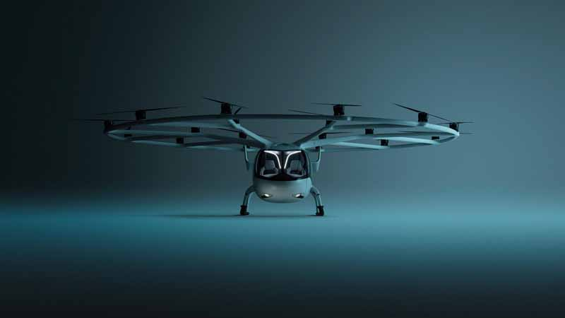 Volocopter VeloCity aircraft.