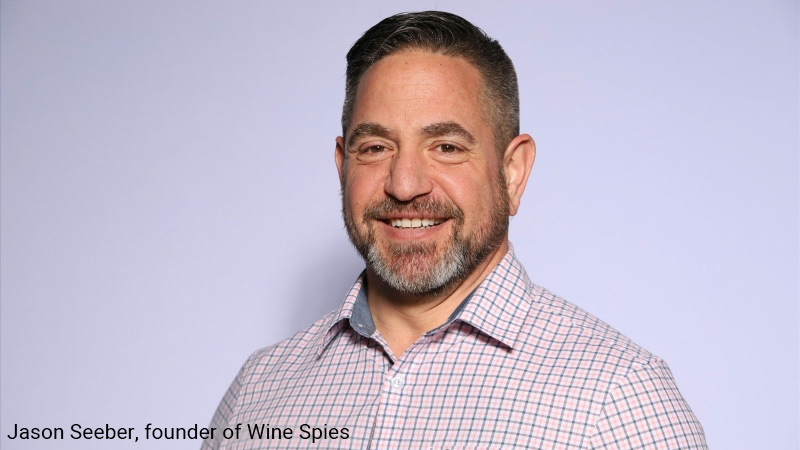 Jason Seeber, founder of the Wine Spies.