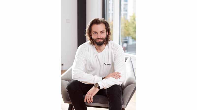 Xayn co-founder and CEO Leif-Nissen Lundbæk.