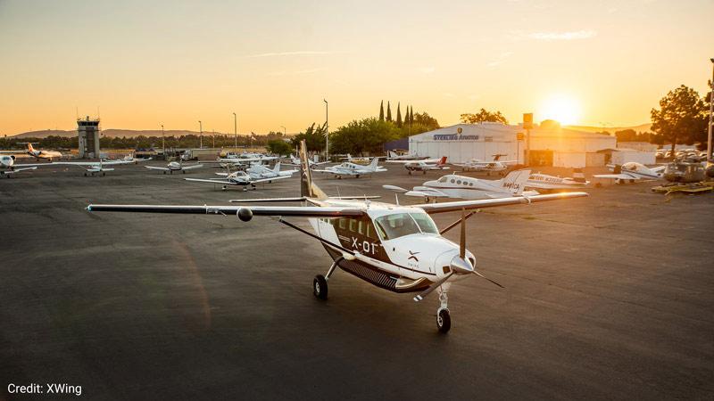 Xwing aircraft.