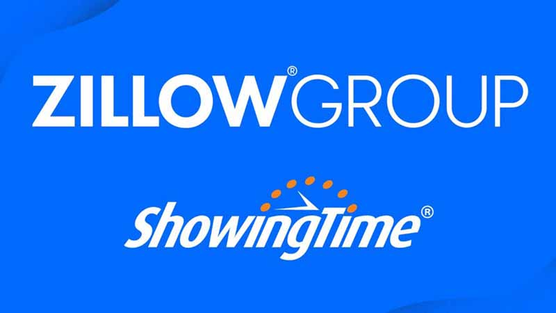 Zillow and ShowingTime logos.