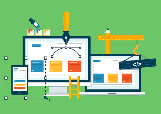 The construction of a great business website
