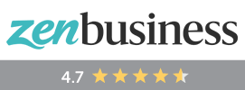 ZenBusiness - 4.7 out of 5 stars