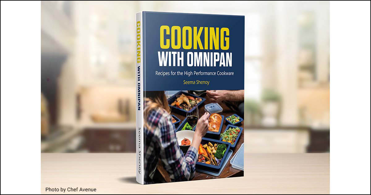 Cooking with Omnipan book by Semma Shenoy.