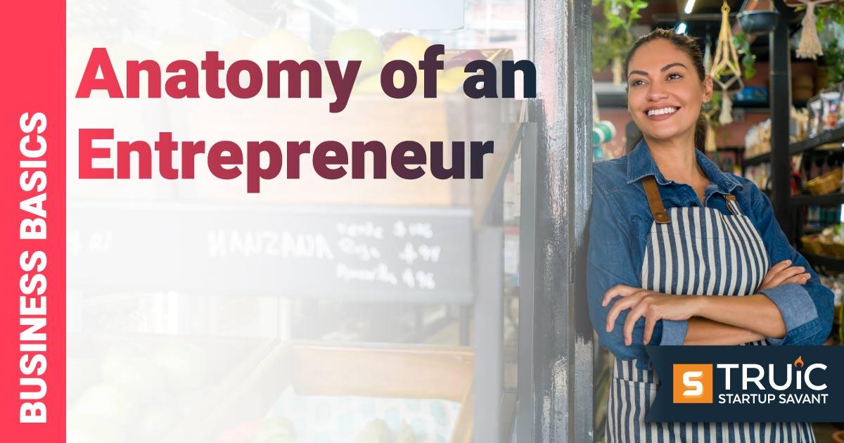 Woman entrepreneur posing.