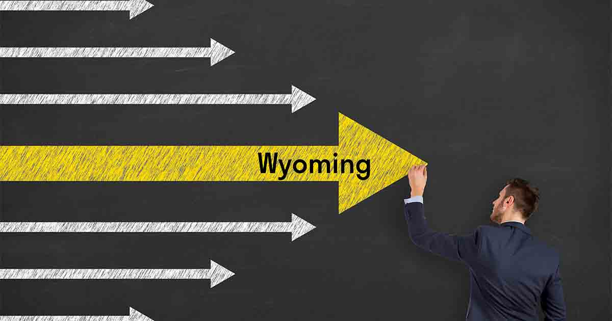 Incorporation in Wyoming
