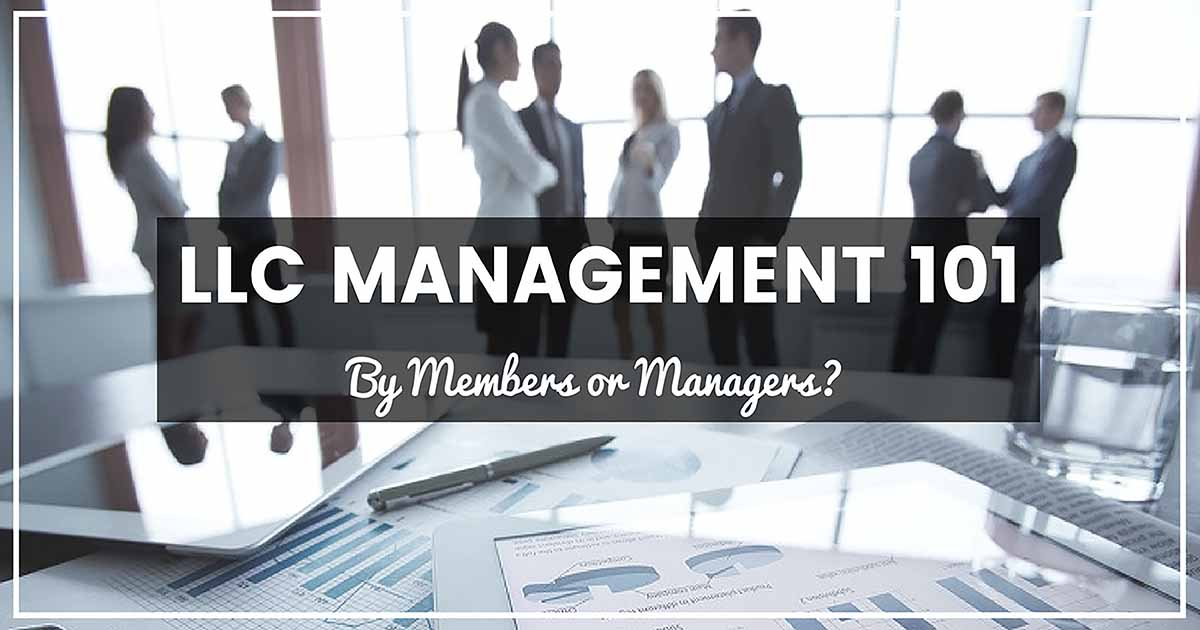 LLC management 101