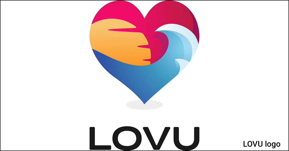 LOVU logo.
