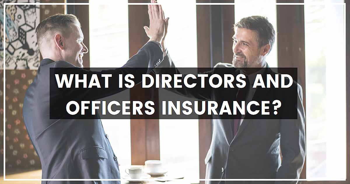 What Is Directors And Officers Insurance?