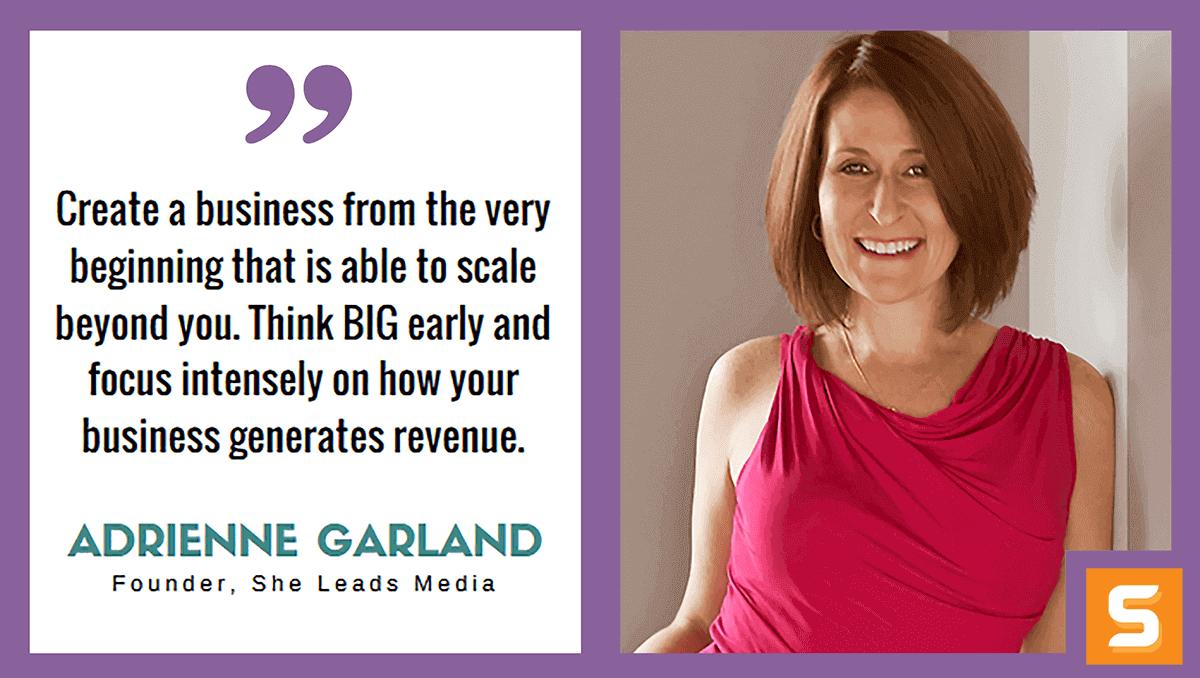 Adrienne Garland Interview