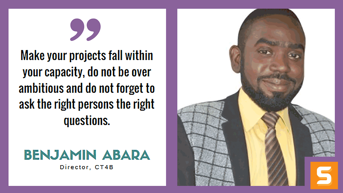 Benjamin Abara Interview
