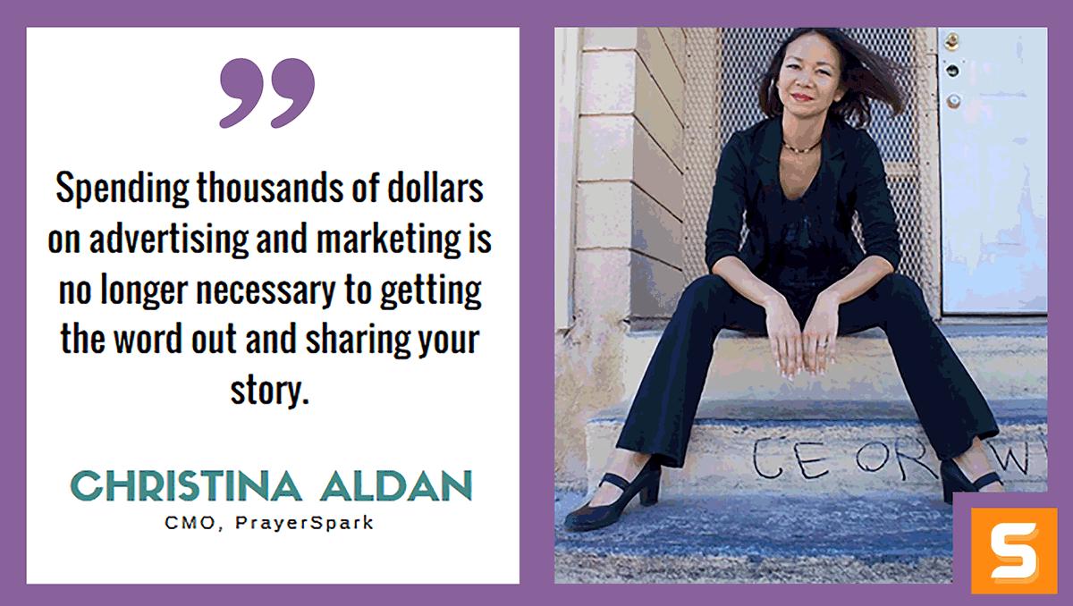 Christina Aldan Interview
