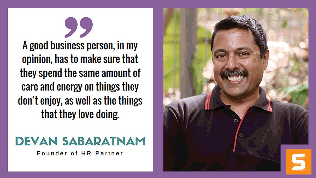 Devan Sabaratnam Interview