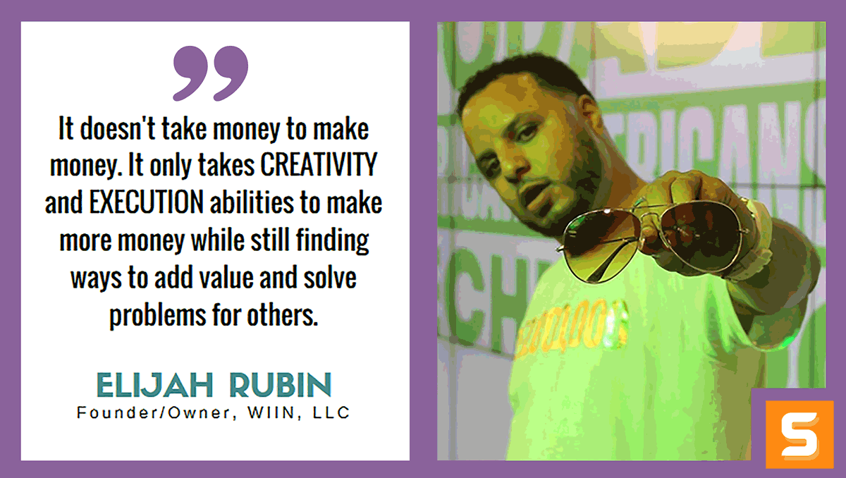 Elijah Rubin Interview