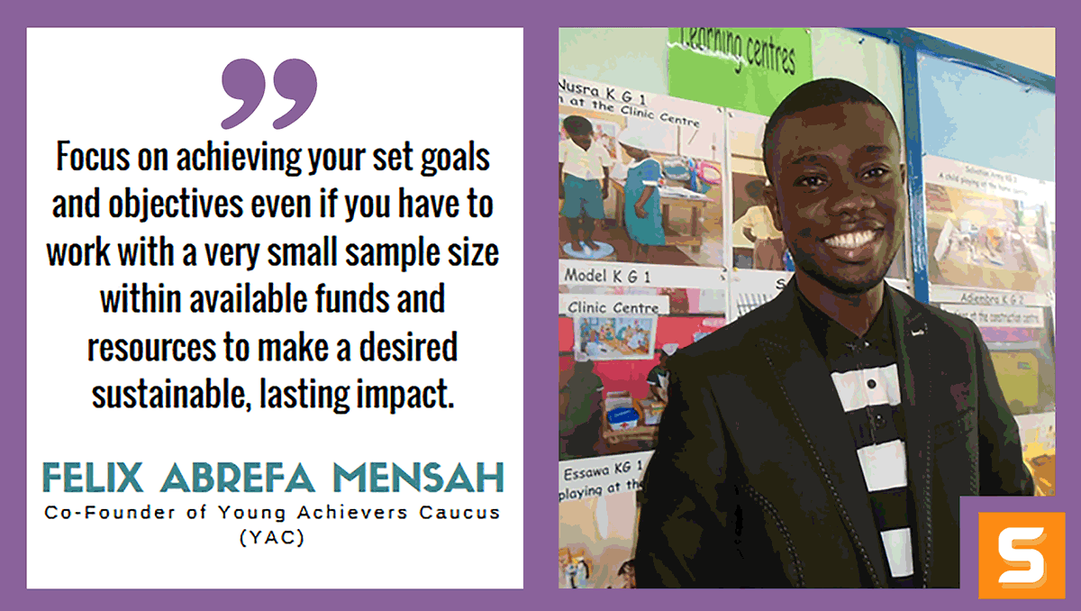 Felix Abrefa Mensah Interview