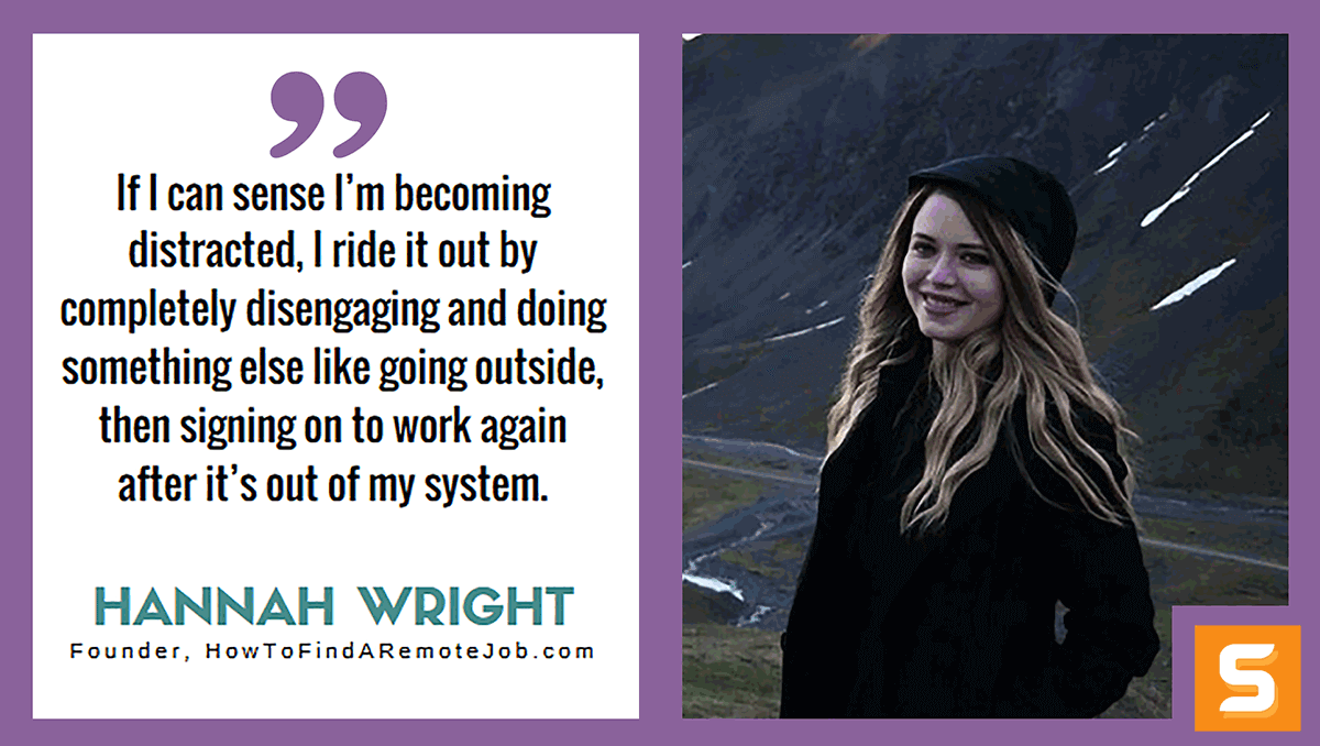 Hannah Wright Interview
