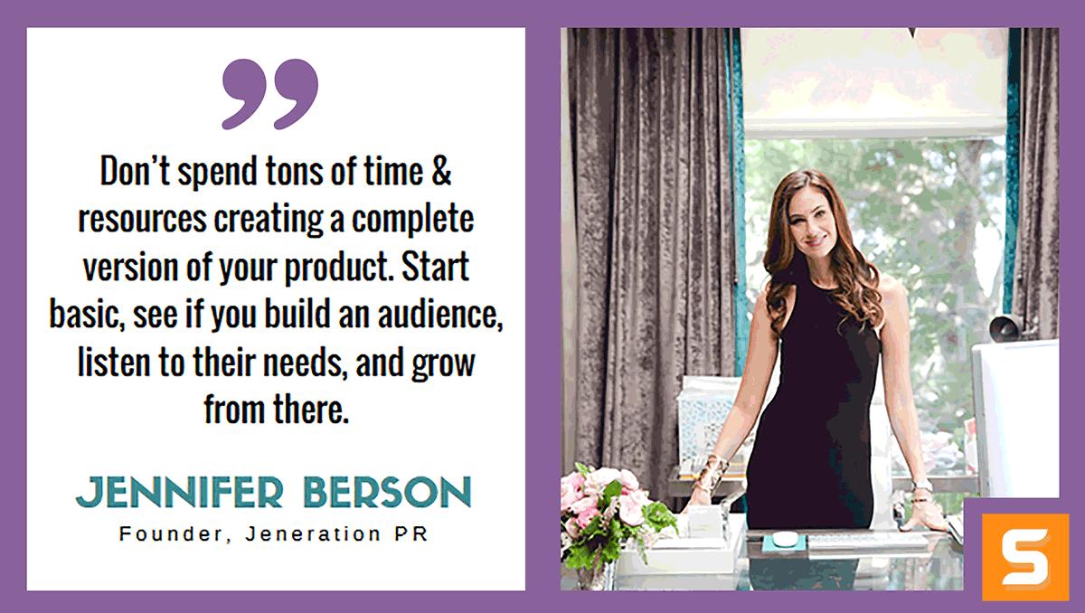 Jennifer Berson Interview
