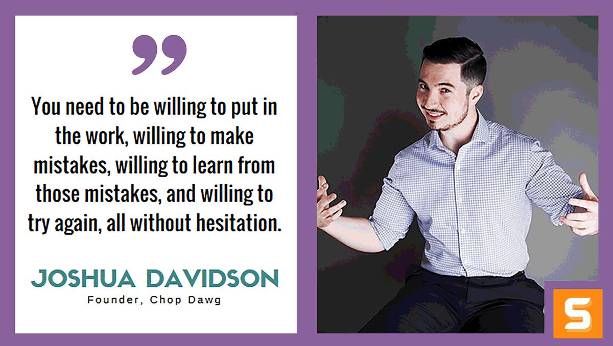 Joshua Davidson Interview