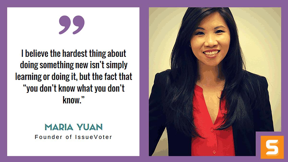Maria Yuan Interview