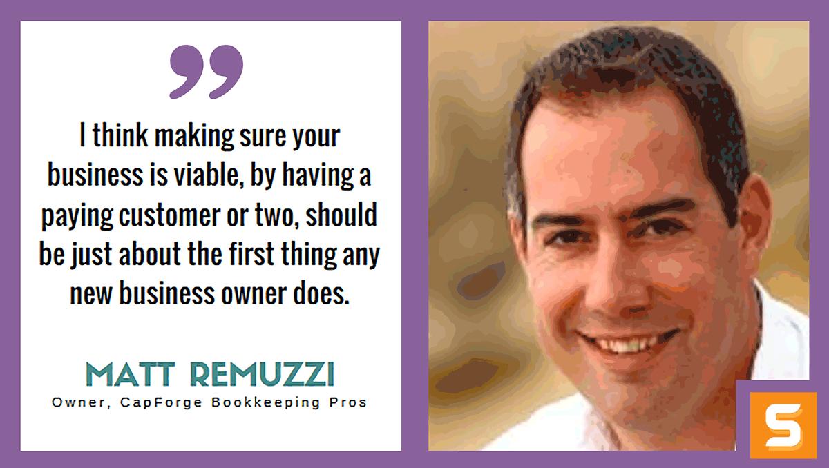Matt Remuzzi Interview