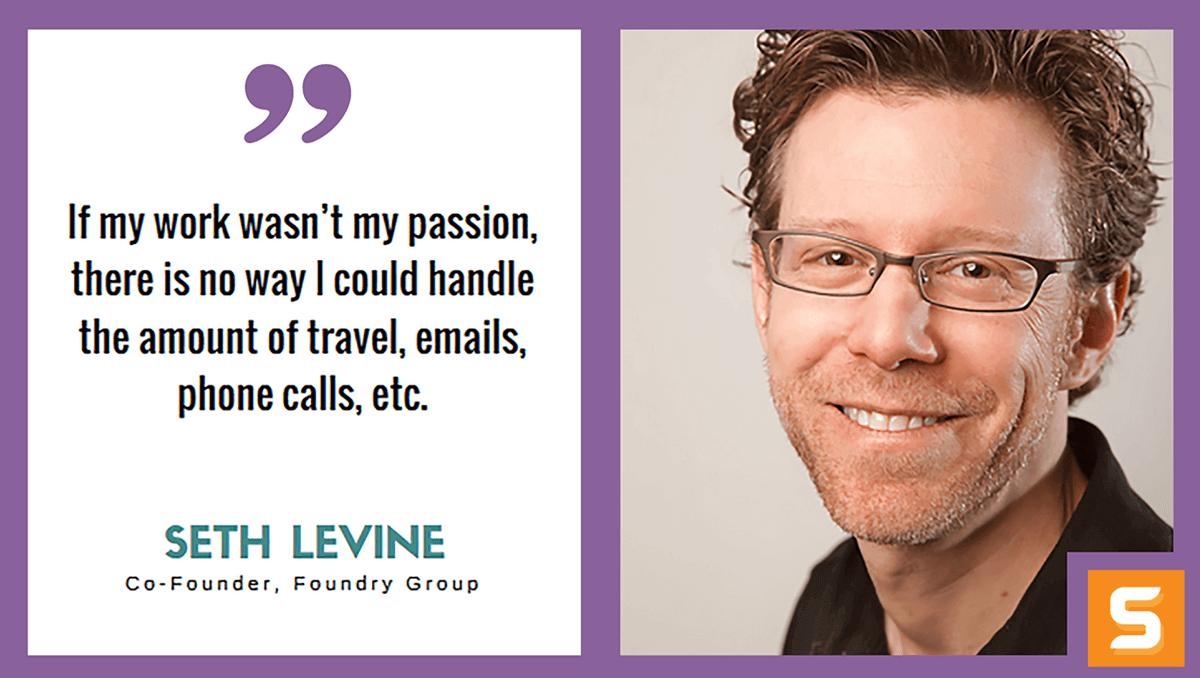 Seth Levine Interview