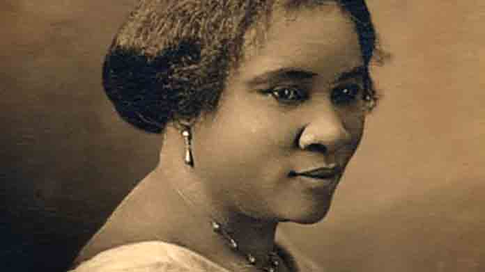 Image of Madam C .J. Walker.
