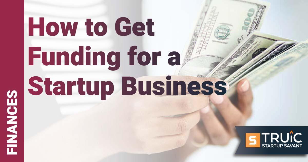 Businesswoman holding cash.