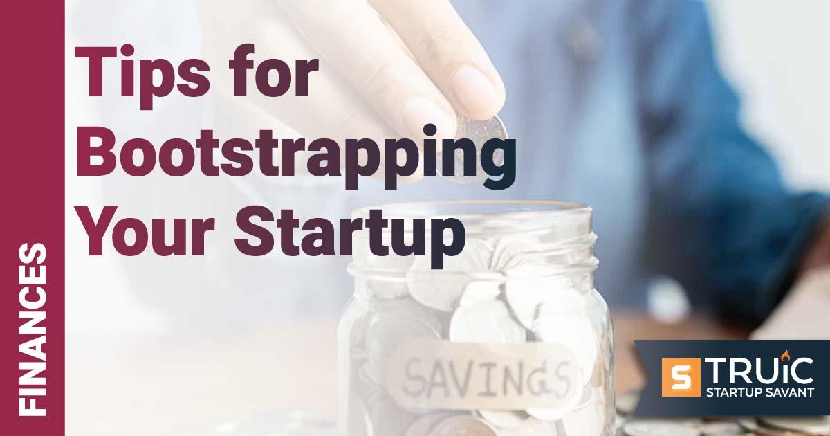Woman putting coins in savings jar.