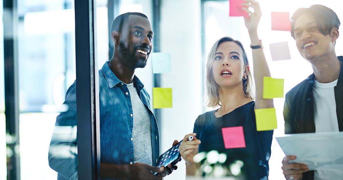 Entrepreneurs working together.