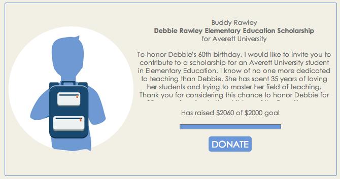Debbie Rawley Scholarship