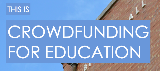 This Is Crowdfunding For Education