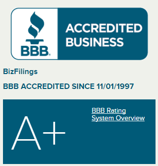 BBB Rating Bizfilings