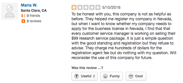 Bizfilings Yelp Reviews 2