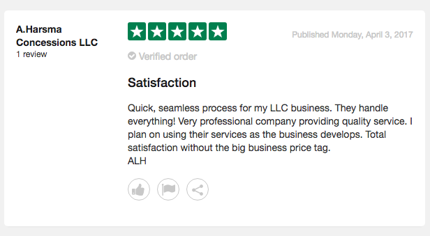 My Corporation Customer Review 1