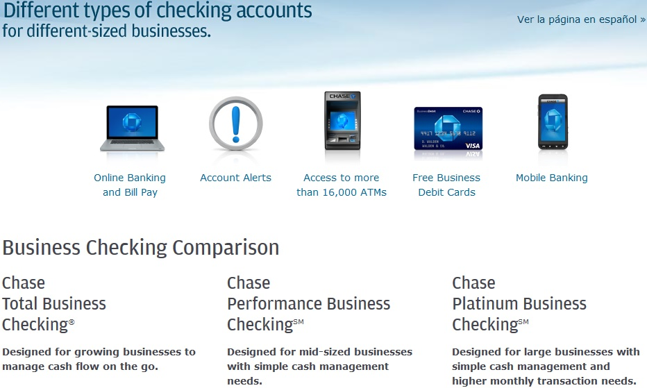 Chase Business Checking Pricing