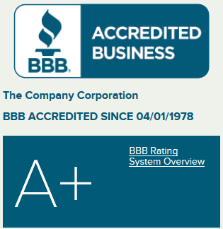 The company Corporation BBB Rating