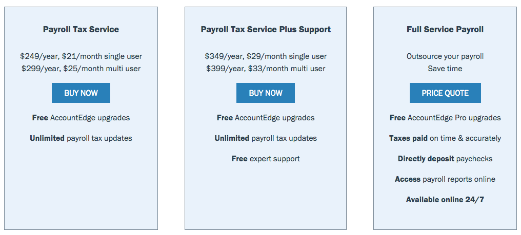 AccountingEdge Payroll