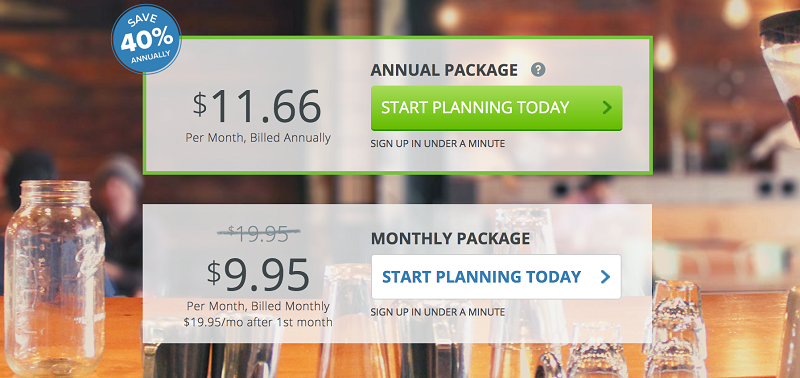 Liveplan Planning Pricing