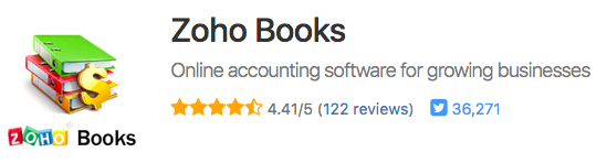 ZohoBooks Online Accounting Software Reviews