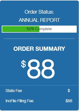 IncFile Annual Report Filing Service Pricing