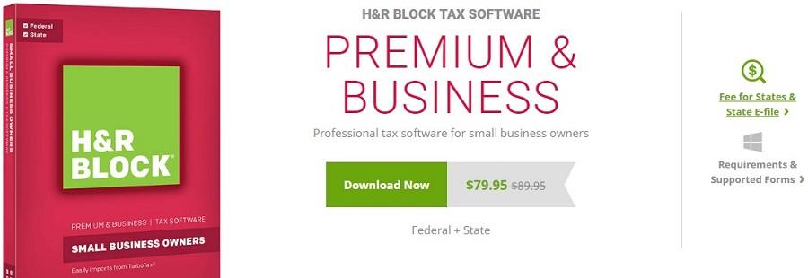 H&R Block Premium & Business Pricing & Features